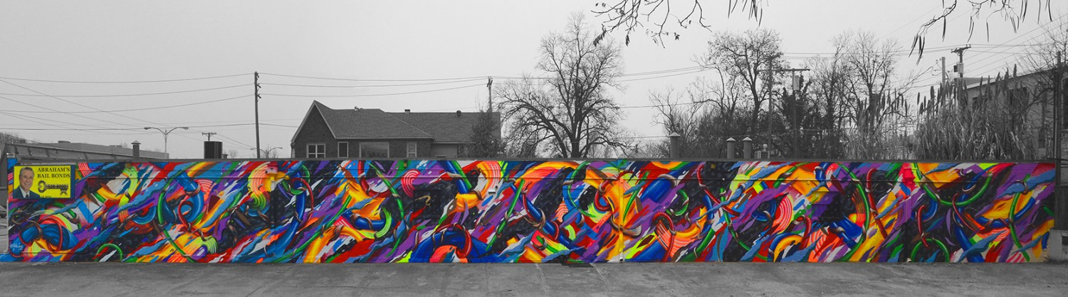 Oklahoma city s newest public art work 1219 creative for Creative mural art